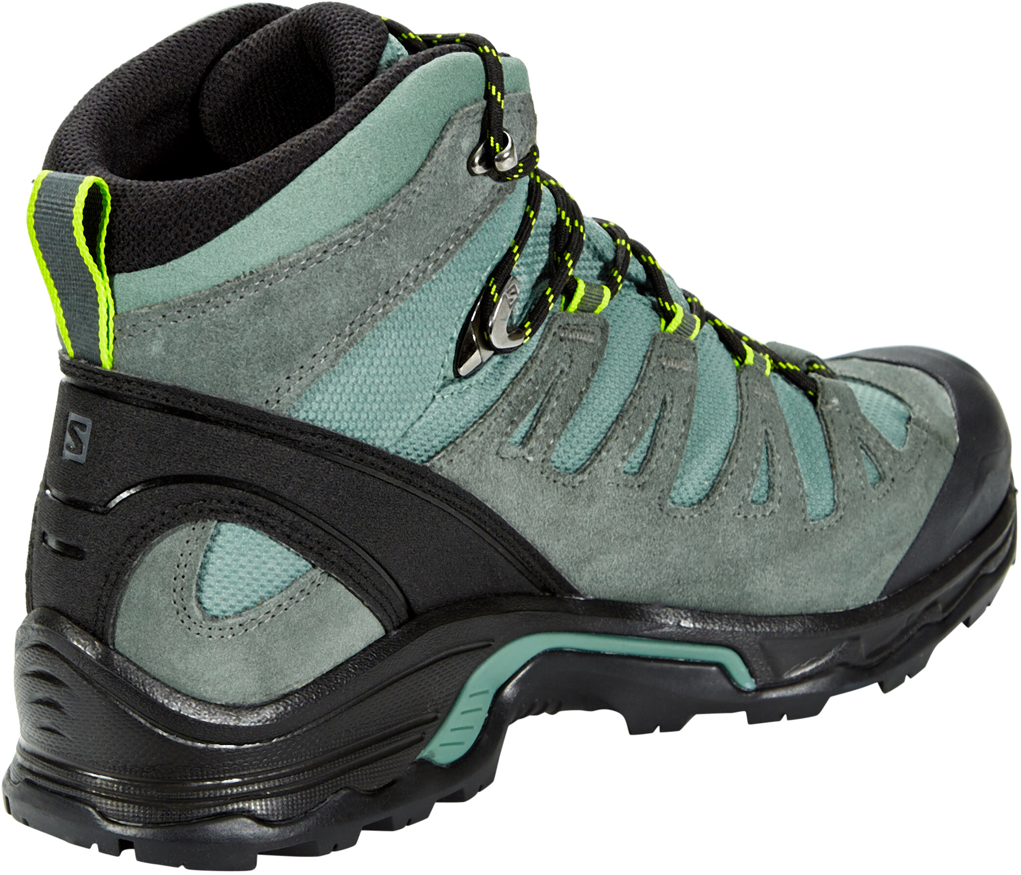 667540d7d843 Salomon Quest Prime GTX Shoes Men Balsam Green Urban Chic Lime Green ...